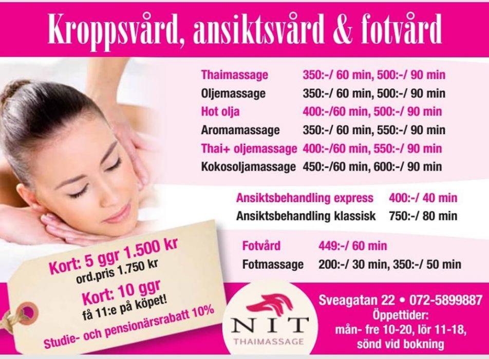 skön massage göteborg thai östermalm
